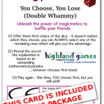 card nontransitive dice - double whammy