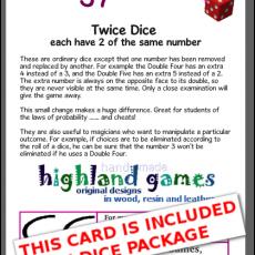 card twice single