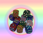 Shake Rattle and Roll dice