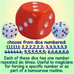forcing dice (individual)
