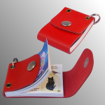 book open and closed (red)